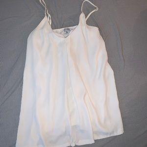 Dressy tank top blouse